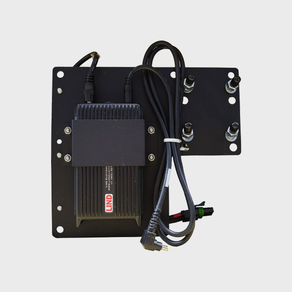 Fully Assembled Install Plate Back Plate