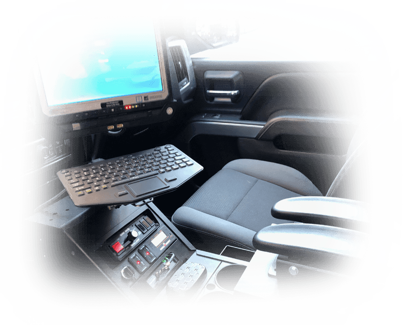 Police Cruiser Mobile Mount