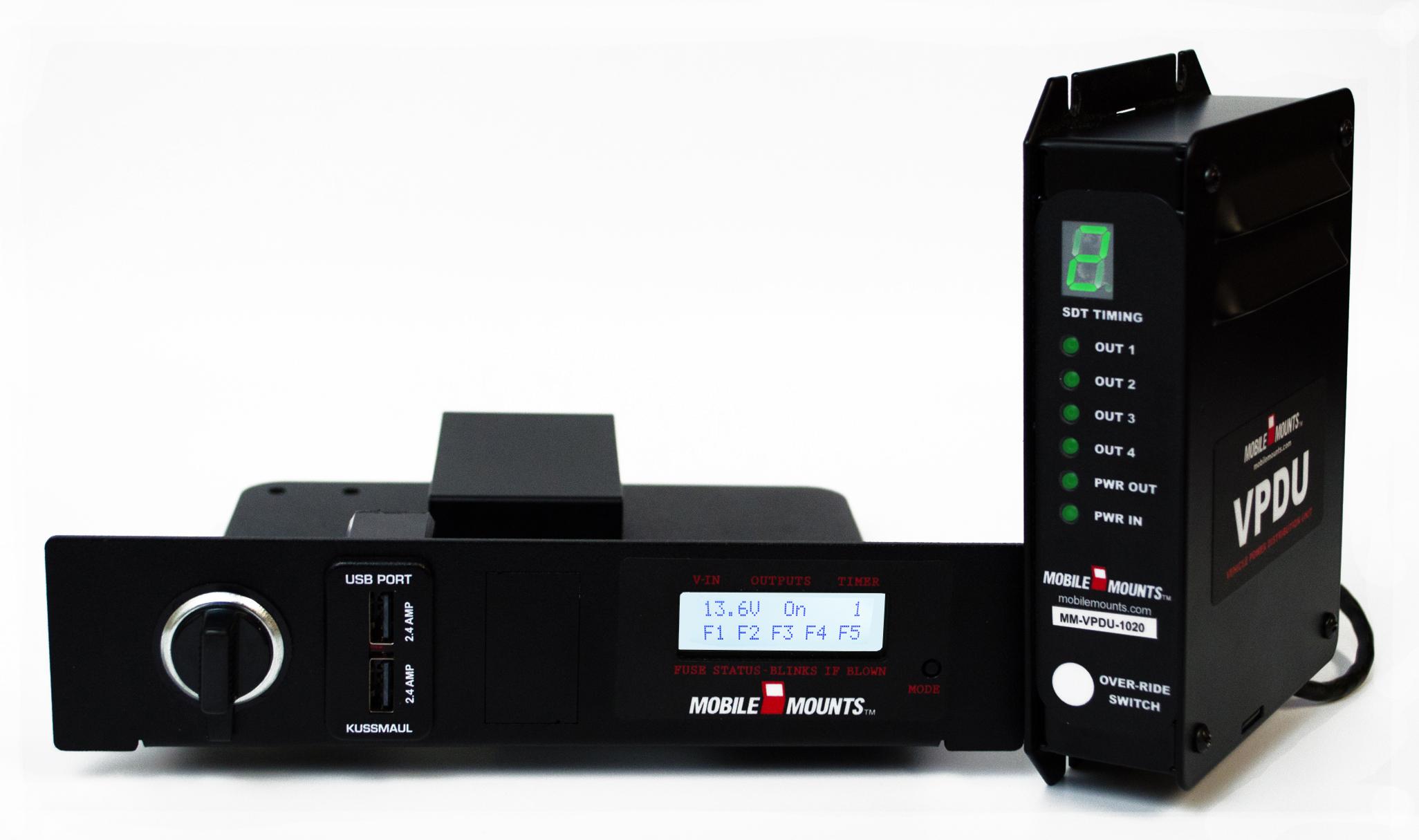 Mobile Mounts Remote VPDU Display